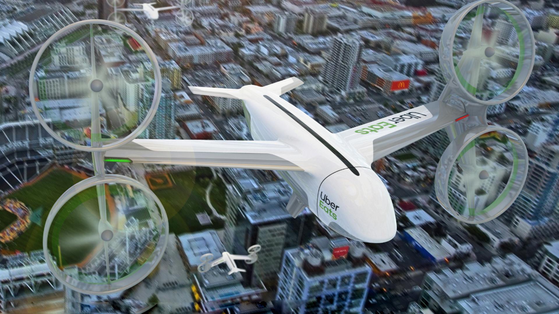 Uber Drone Deliveries