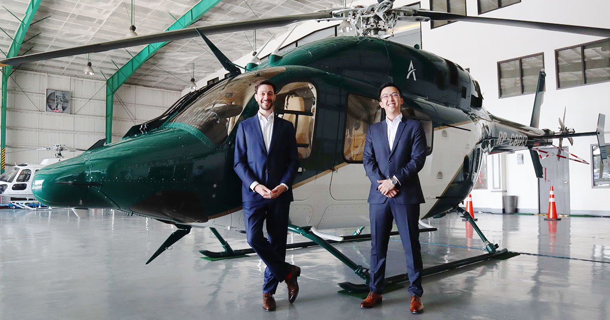Ascent Urban Aviation founders