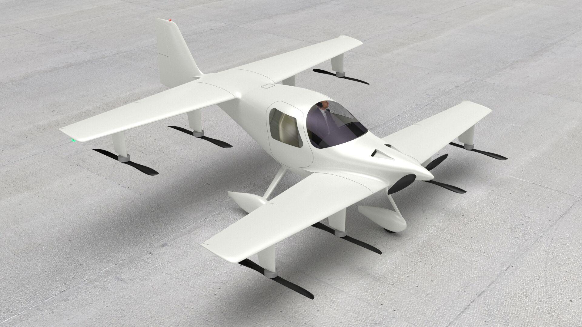 Flyter 720-200 eVTOL