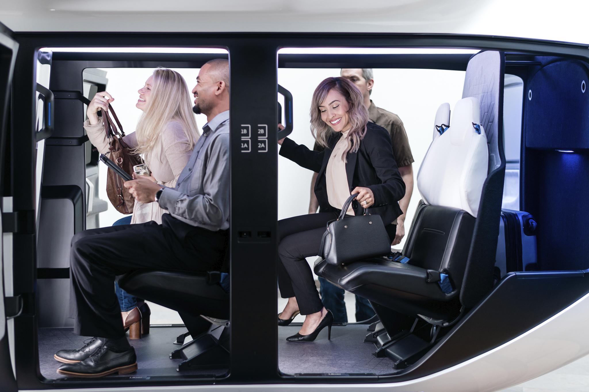 Uber Air Safran Cabin