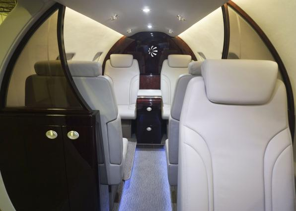 Leonardo Helicopters AW609 Interior