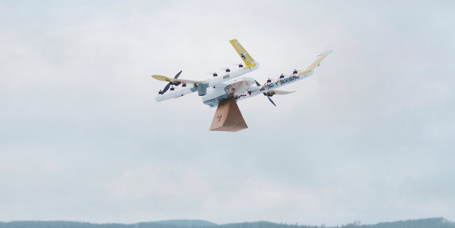 Uber Eats Drones