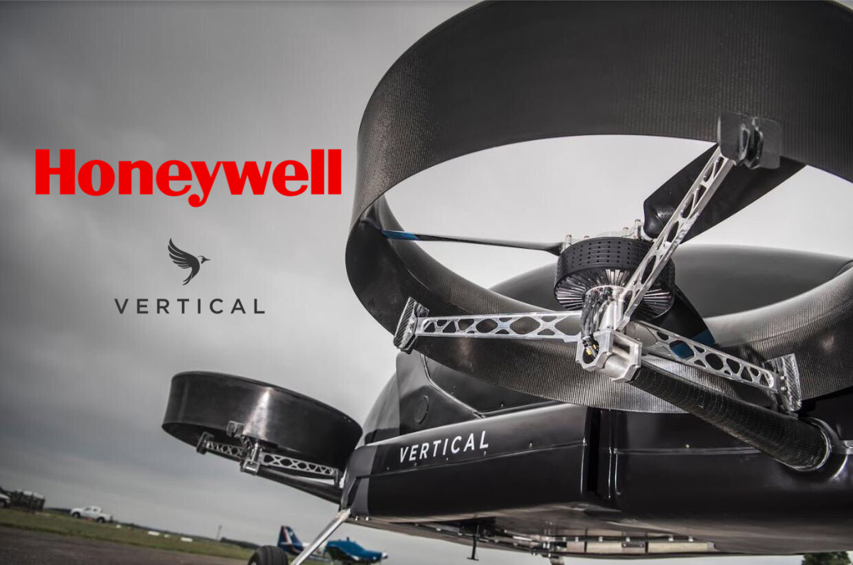 Honeywell and Vertical Aerospace