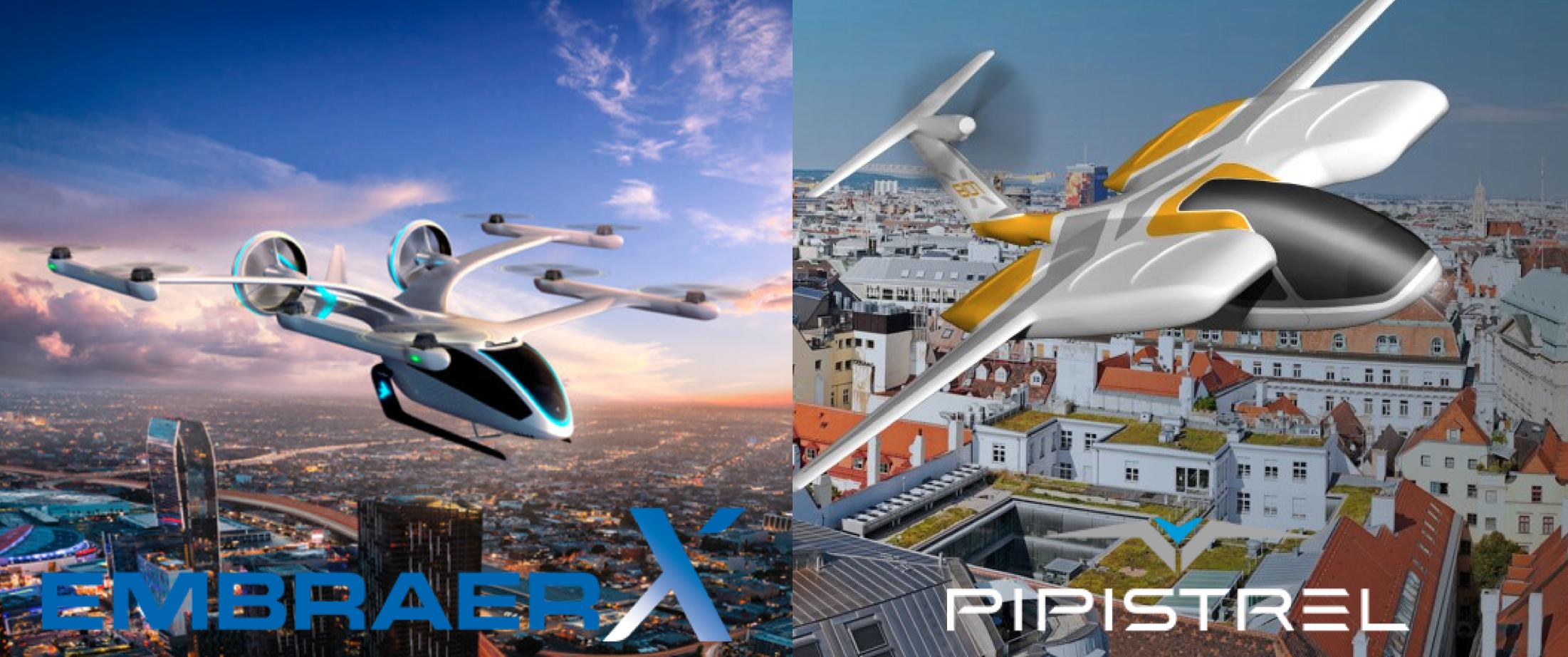Uber Air EmbraerX Pipisterel