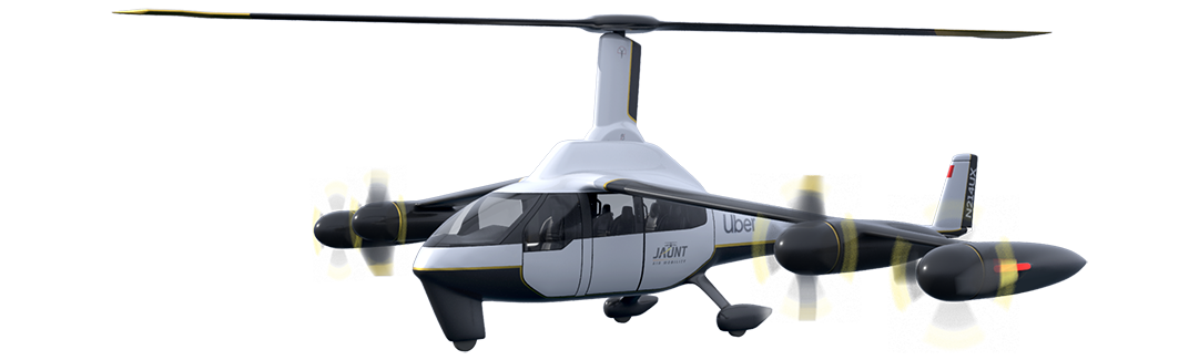 Uber Elevate Jaunt Air Mobility