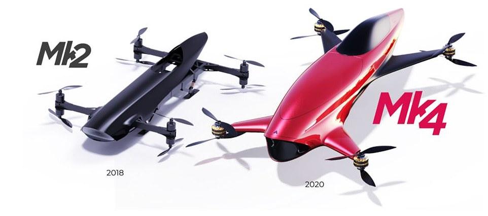 Alauda Airspeeder eVTOL