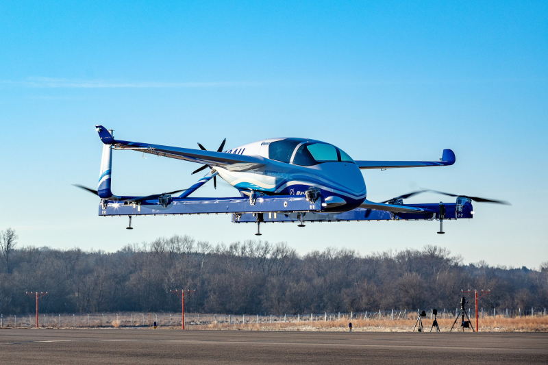 Passenger Air Vehicle (PAV) - Aurora Flight Sciences completes its first flight in January 2019.