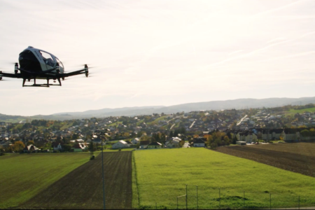 EHang AAV completed multiple flight demos in China, Austria, Qatar, Netherland, etc