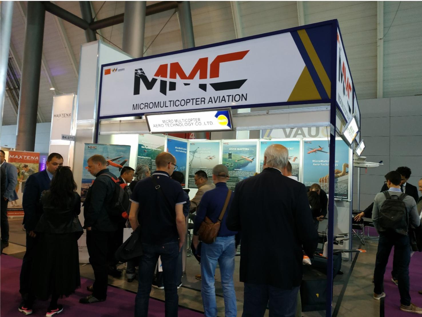 MMC UAV at InterGEO 2019