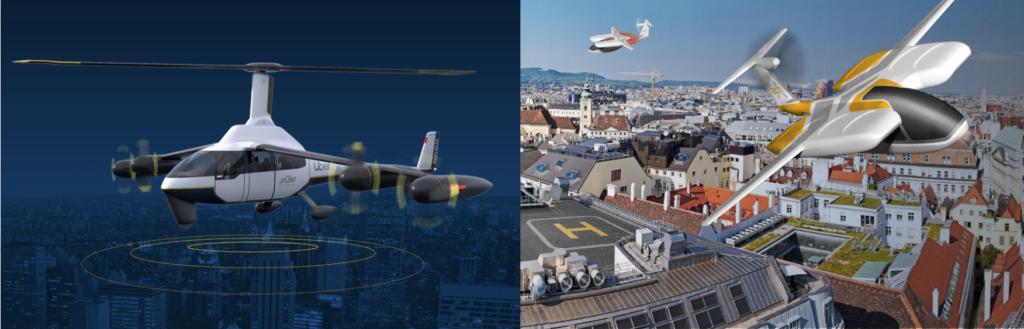 Aerial Mobility eVTOL's