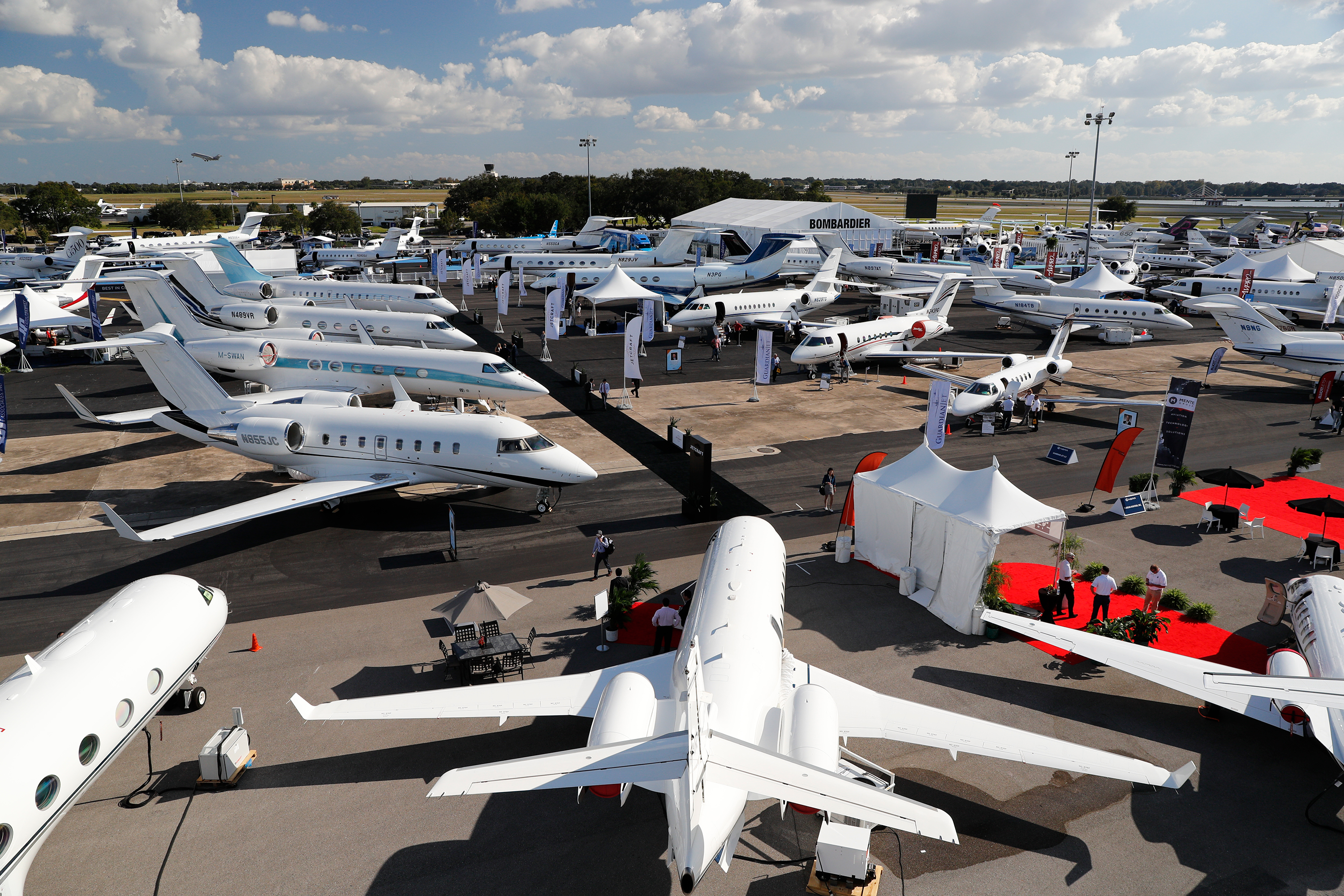 Aerial mobility took center stage at one of business aviation's premier events