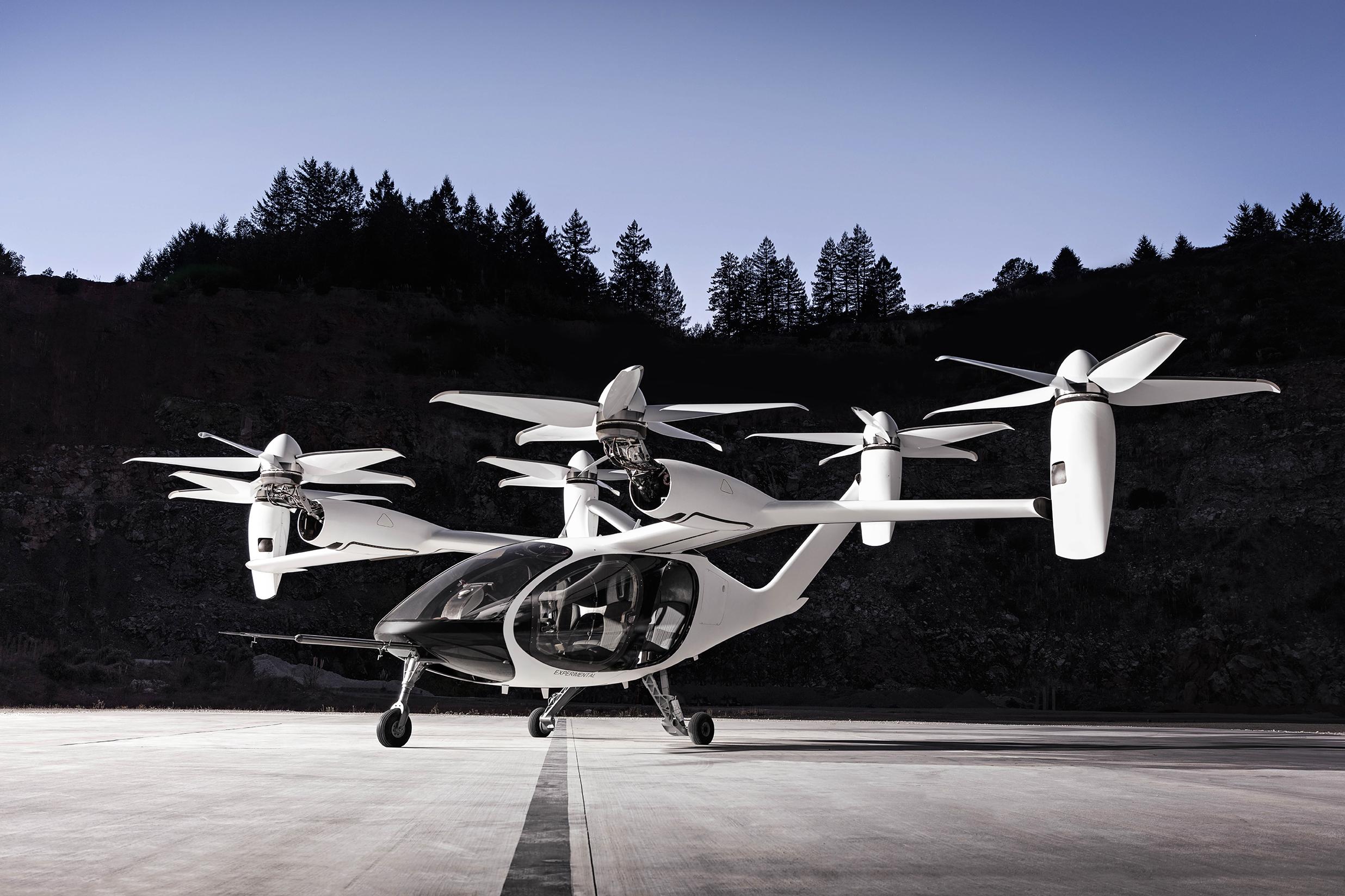 Joby Aviation's aircraft prototype