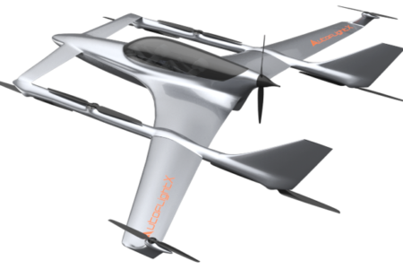 AutoFlightX V600 prototype