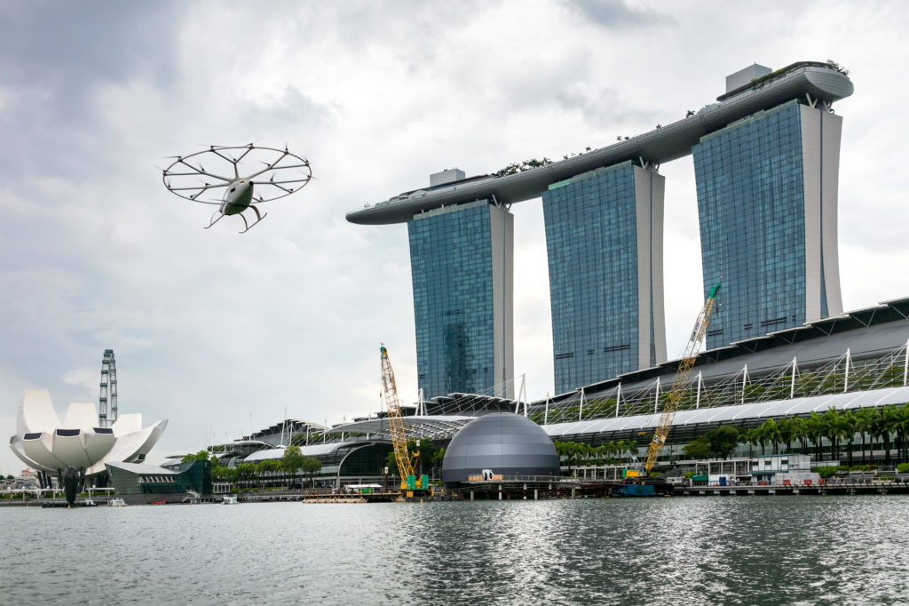Volocopter in Singapore
