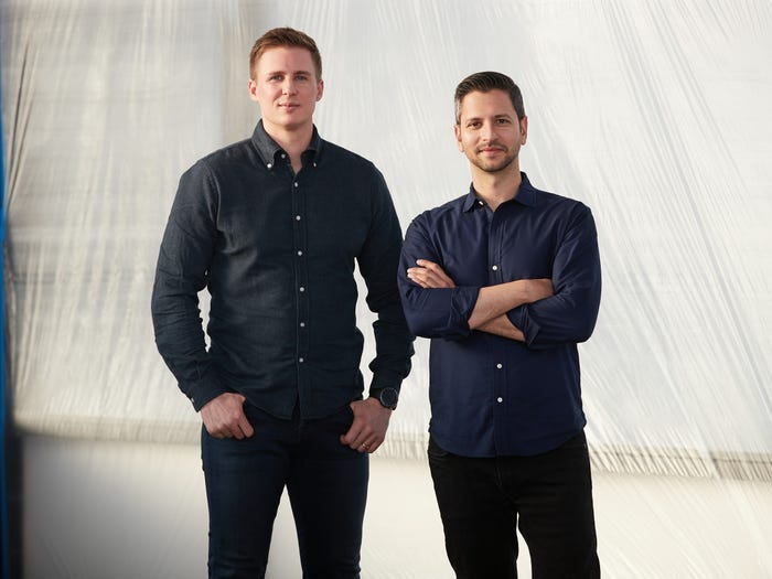 Archer's founders Brett Adcock and Adam Goldstein.