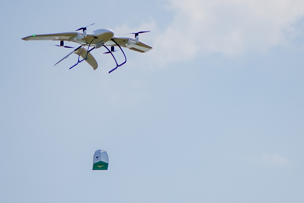 Wingcopter Drone Delivery