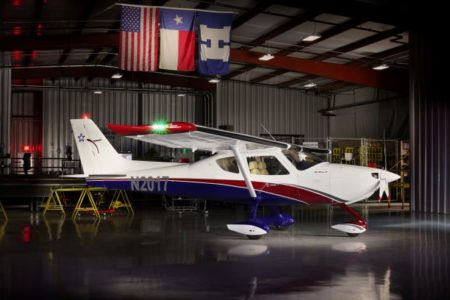 Colt S-LSA aircraft which will be the base platform of the new eColt variant.
