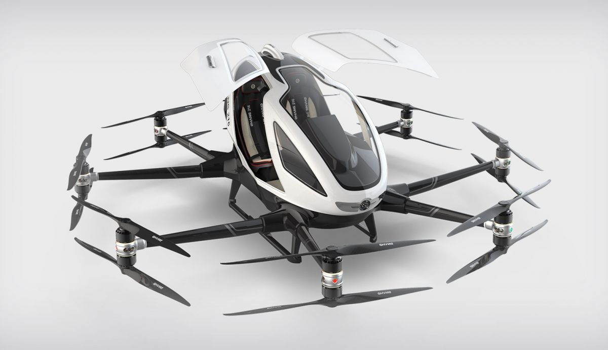 Ehang 216 // eVTOL Aircraft Overview by TransportUP