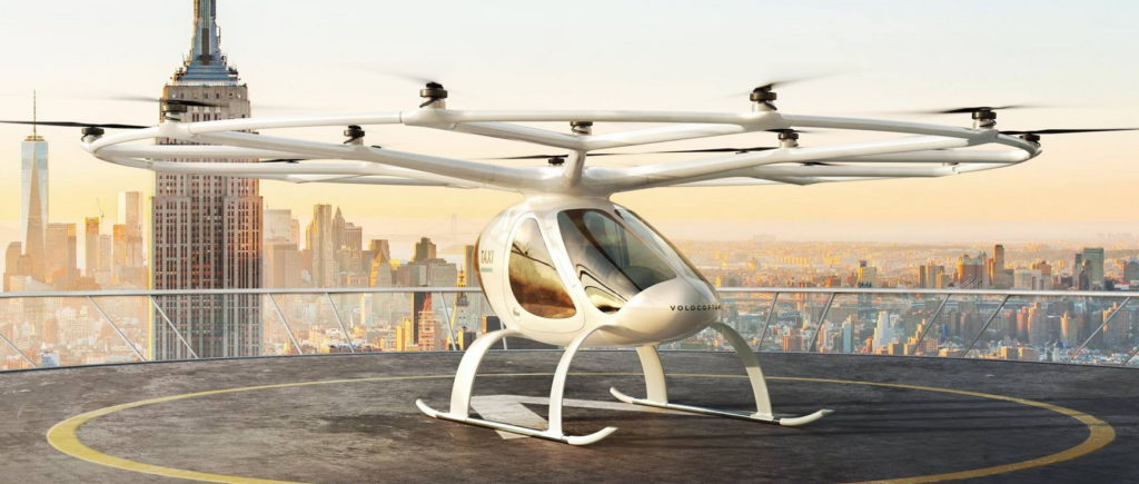 Volocopter Singapore Launch