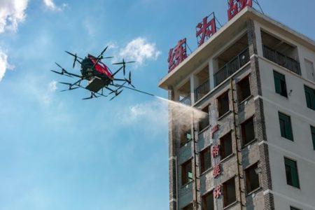 EHang High Rise Firefighting