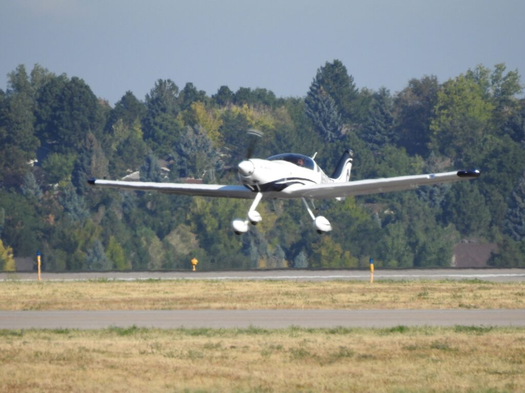 eFlyer 2 Landing