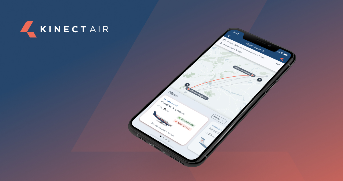 KinectAir offers on-demand air charter services in Cirrus and Pilatus Aircraft. The firm will partner with VoltAero to operate hybrid-electric aircraft by 2023.