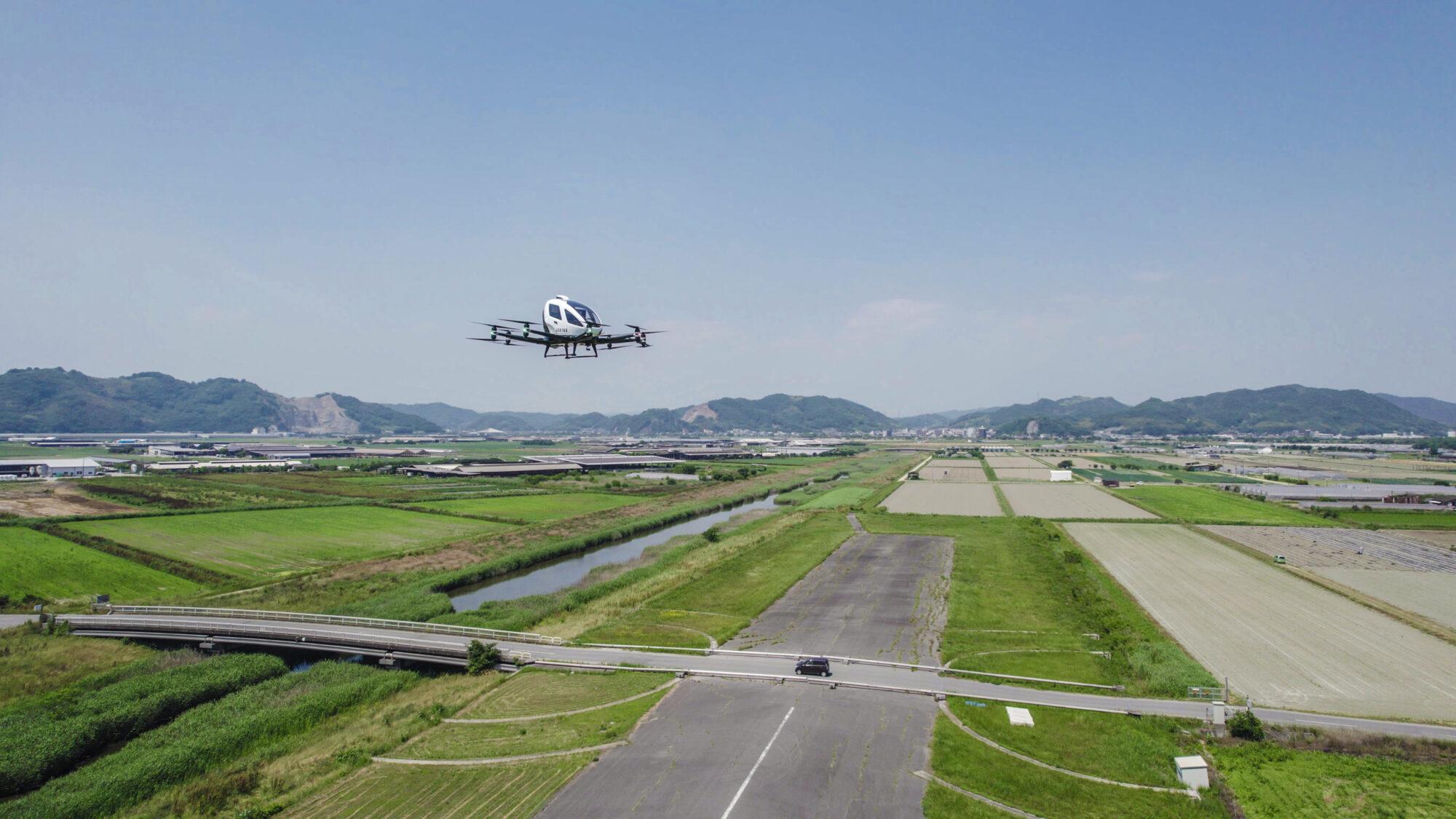 EHang AAV 216 Japan