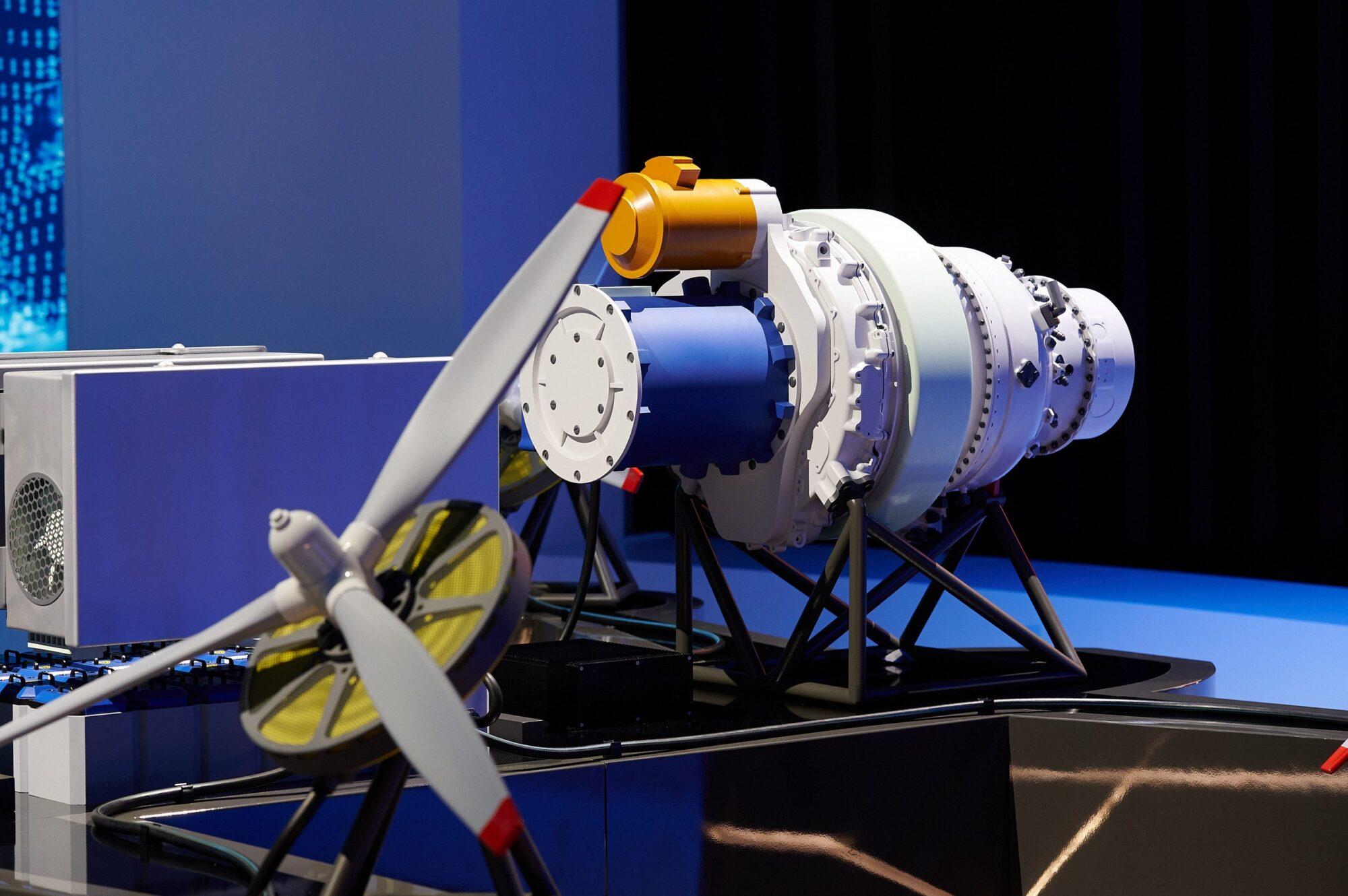 Hybrid Engine Mockup