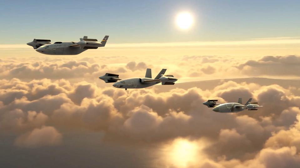 Bell's HSVTOL artistic renderings submitted under the Air Force's AFWERX competition.